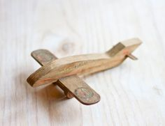 Vintage Wooden Airplane  TAP air Portugal Plane by Meanglean, $28.00