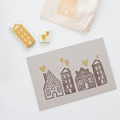 Making your own stamped stationery is easy, even for a beginner. (via Fellow Fellow)