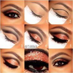 Halloween makeup ((: