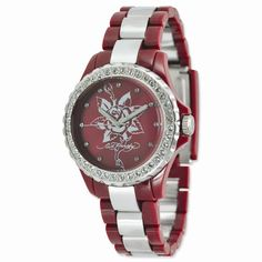 Ed Hardy Red Vixen Ladies Watch