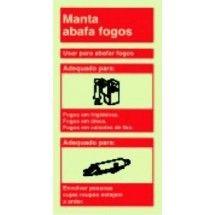0991a4f6123ad Placa de sinalização Manta Ignífuga Sinalização De Segurança, Segurança  Contra Incêndios, Acidente De Trabalho
