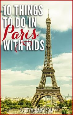 10 Things To Do In Paris With Kids Going on vacation with kids in Paris, France? Find out where you really need to go from the best tour guide out there: a mom who LIVES with kids in Paris! Get great tips and ideas for fun things to do with the kids (from Paris Travel Tips, Travel Blog, Travel Guide, Travel Things, Solo Travel, Travel With Kids, Family Travel, Family Trips, Family Vacations