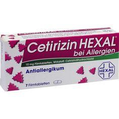 CETIRIZIN HEXAL Filmtabletten bei Allergien und Heuschupfen: Medikament zur Behandlung von Krankheitssymptomen bei Allergie…