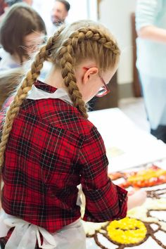 My Family Ties: Persil Cook With The Kids Event 2015 - My Family Ties, Hair Styles, Dutch Braid, Braids,