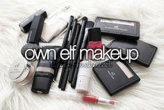 """ Own Elf makeup. """