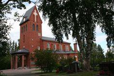 Pirkkalan Vanha kirkko Finland, Cabin, Mansions, House Styles, Historia, Manor Houses, Cabins, Villas, Mansion