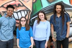 Musical Collaborators Light It Up Blue at Converse Rubber Tracks