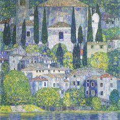 Landscapes / Kirche in Cassone 1913