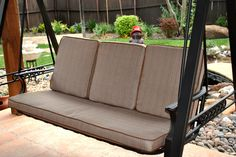 3 Seat Swing Cushion Replacement Porch Swing Cushions in