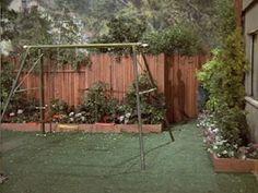 The Brady Bunch Blog: The Brady Bunch Backyard