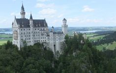 Castles Built into Mountains | Bier, Brats & Bavaria.    Behold the castle fit for a king, or someone.