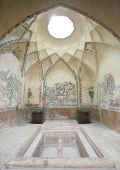 Bath house.