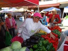 Learn about Farmers Market options with Chef led market tours
