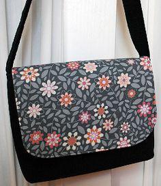 Kids Messenger Bag Free Sewing Pattern | AllFreeSewing.com