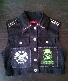 Gh3ttoBla5terDesigns Psychobilly Punk Rock by Gh3ttoBla5terDesigns, $90.00