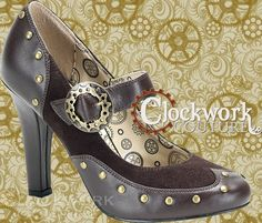 Steampunky mary janes