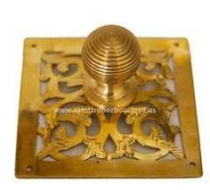 Photo of Moroccan door knob 08 Moroccan Bathroom, Moroccan Lamp, Furniture Hardware, Cabinet Furniture, Lattice Screen, Moorish, Door Knobs, Home Accessories, Decorative Boxes