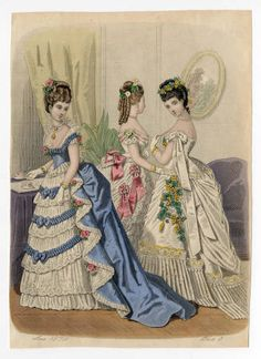 Women 1874, Plate 013 :: Costume Institute Fashion Plates