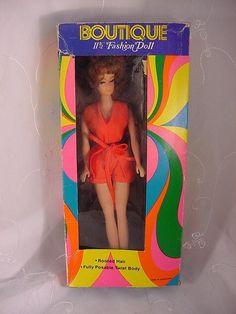 Vintage Boutique Peggy Ann Fashion Doll Barbie Clone Hong Kong
