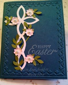 another cross from Stampin' Up's Lattice die for the Big Shot