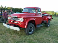 1959 dodge Power Wagon with a cummins Old Dodge Trucks, Ram Trucks, Cool Trucks, Fire Trucks, Pickup Trucks, Dodge Power Wagon, Diy Camper Trailer, Panel Truck, Japanese Cars