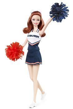 Auburn University Barbie