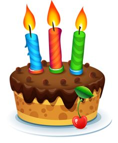 CAKE O Happy Birthday Clip Art Charts Gifts