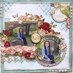 My Cutie **Websters Pages DT** - Scrapbook.com (Created by Gabriellep) Wendy Schultz onto Scrapbook Art.
