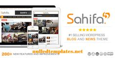 Sahifa V.5.3.0 – Responsive WordPress News, Magazine - http://nulledtemplates.net/wordpress-themes/themeforest/sahifa-v-5-3-0-responsive-wordpress-news-magazine.html  Sahifa V.5.3.0 responsive WordPress theme combines practical Sahifa V.5.3.0 elegance with powerful features. Retina-ready and designed specifically for use across a broad array of devices and platforms, the versatile and customizable theme continues to be a resoundingly popular choice for blogs, news, and maga