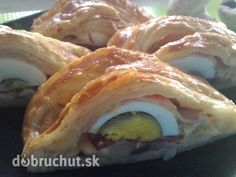 Slaný závin - :-):-):-) Sushi, French Toast, Breakfast, Ethnic Recipes, Party, Food, Pizza, Hampers, Morning Coffee