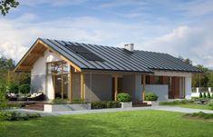 Proiect de casa spatioasa doar cu parter Faber, Simple House, Shed, Exterior, Outdoor Structures, Dining, Outdoor Decor, Homes, Home Decor