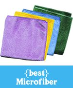 e-cloth microfiber - perfect cleaning with water - no chemicals required.