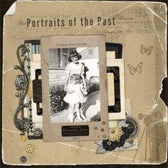 Portraits of the Past 1950's - Digital Scrapbook Place Gallery