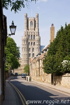 """Ely Cathedral, UK - I will miss seeing this as I drive home or when running errands. """"The Ship of the Fens"""""""