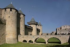 Carcassonne - amazing castle and walled city in France. A stop on the tour in Passport France!  #unitstudies