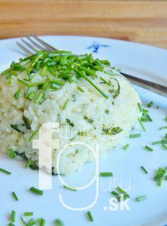 Jarné rizoto s medvedím cesnakom a pažítkou Grains, Dairy, Cheese, Healthy, Fit, Shape, Health, Seeds, Korn