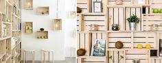 Locales decorados con cajas - BohoChicStyleBohoChicStyle
