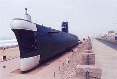 Submarine Museum at R.K.Beach,Vizag.