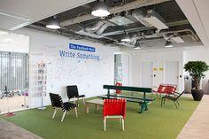 Les nouveaux bureaux de Facebook à Paris