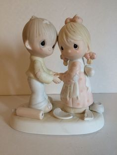 """Precious Moments Forgiving Is Forgetting Figurines 5 5"""" Tall as Is   eBay"""