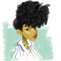 ***Try Hair Trigger Growth Elixir*** ========================= {Grow Lust Worthy Hair FASTER Naturally with Hair Trigger} ========================= Go To: www.HairTriggerr.com =========================        Rocking a Curly Pineapple Puff!  Natural Hair Art