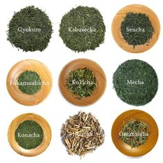 Yunomi: Japanese Green Tea Variety Pack - 9 types of green tea: (Gyokuro, Kabusecha, Sencha, Fukamushicha, Kukicha, Mecha, Konacha, Hojicha, Genmaicha)