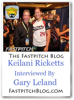Todays Fastpitch TV Blog Post is an interview with Keilani Ricketts.  Read the full interview by Gary leland at http://fastpitch.tv/keilani-ricketts-interview  Remember to private message me if you are interested in joining the volunteers that write for the Fastpitch Blog.  Show your support for http://Fastpitch.TV/ & visit my online store http://SoftballJunk.com/
