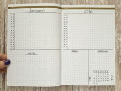 The Crop Top month planner