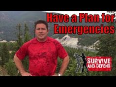 Have a Plan for Emergencies with Alain Burrese