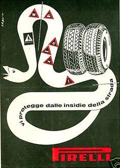 Bramante Decio Buffoni, Pneumatici Pirelli, 1951