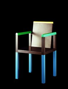 The Return of Memphis - September 2014 - Lonny Modern Furniture, Furniture Design, Memphis Milano, Camping Chair, Memphis Design, Design Movements, Take A Seat, Cool Chairs, Chair Design