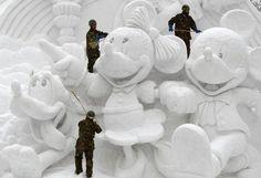 Ice sculpture --