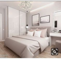 Room Design Bedroom, Bedroom Furniture Design, Room Ideas Bedroom, Home Room Design, Home Bedroom, Modern Bedroom, Interior Design Living Room, Girls Bedroom, Bedroom Decor