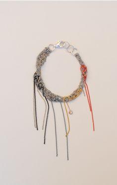 ADP BY ARIELLE DE PINTO http://www.shopanaise.com/adp-by-arielle-de-pinto-hairy-simple-bracelet/